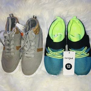 2 pairs sneakers for boy